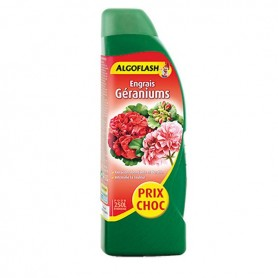 Engrais liquide Géraniums 500ml Algoflash
