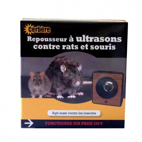 Repousseur à ultrasons contre rats et souris