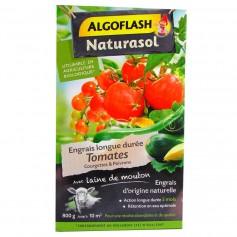 Engrais Tomates Courgettes et Poivrons Algoflash Naturasol 800g 6.95€