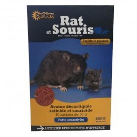 Rat et Souris Céréal Décortiquée 500g