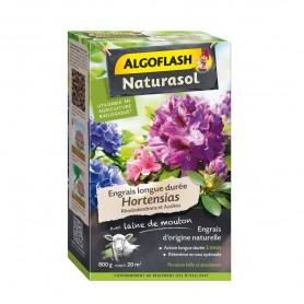 Engrais longue durée Hortensias, Rhododendrons et Azalées Naturasol 800g