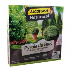 Insecticide Pyrale du buis Bacillus thuringiensis Naturasol