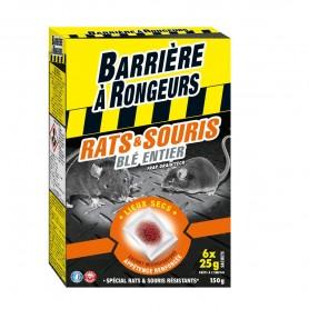 Rats et souris Blé entier Barrière à rongeurs 150g