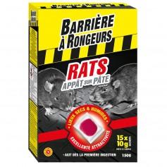 Rats Appât sur Pâtes 150 g Barrière à rongeurs
