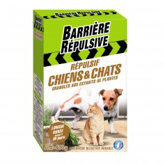 Répulsif chiens et chats granulés aux extraits de plantes 400g Barrière répulsive