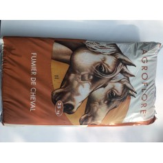 Fumier de cheval 25kg