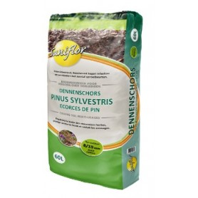 Ecorces de pin sylvestres 60L 6.95€