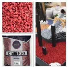 Gravier Chili Red 8/18mm 20kg