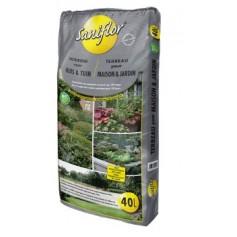 Terreau pour maison et jardin 40L 8.75€