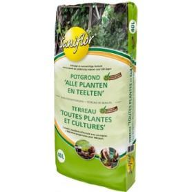 Terreau bio toutes plantes 40L