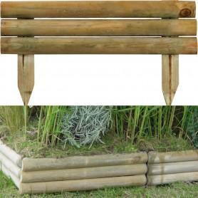 Bordure à planter en bois  5*15/30*55 / 2.50€