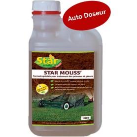 Star Mouss ' Formule spéciale pelouses et gazons ' Star 1L 10.95€à diluer