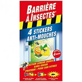 Stickers Anti-Mouches Vitres 2x2 stickers