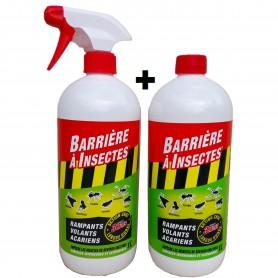 Barrière à Insectes Rampants Volants Acariens + RECHARGE
