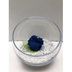 Coupe 1 Rose Bleue Éternelle ( Stabilisée) 14.95€