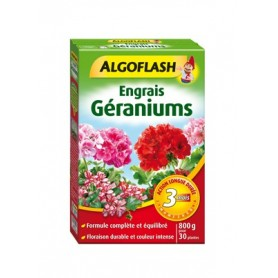 Engrais Géraniums Action prolongée 800g