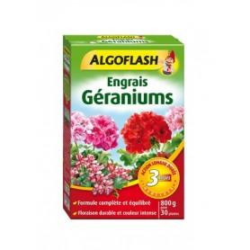 Engrais Géraniums et Fleurs Action prolongée 800g