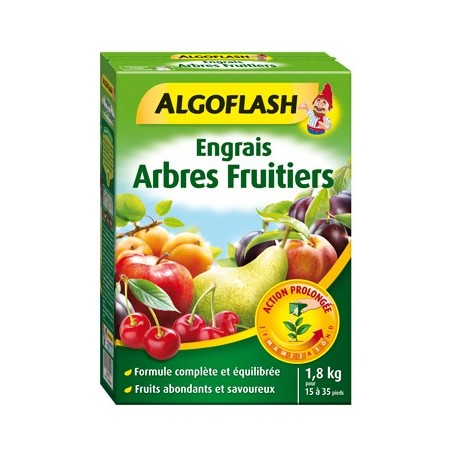 Engrais Arbres fruitiers Action prolongée 1,8kg