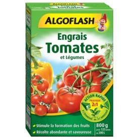 Engrais Tomates et Légumes-Fruits Action rapide 800g 7.95€