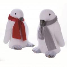 Pingouin rouge ou gris 32cm 11.95€ l'unité