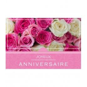 Carte Joyeux anniversaire 1.50€