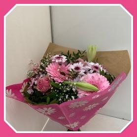Bouquet ton rose 13.95€