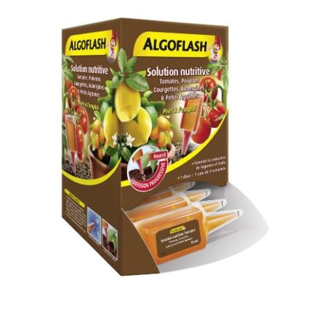 Doses Nutritives Tomates, Poivrons, Courgettes, Aubergines Algoflash