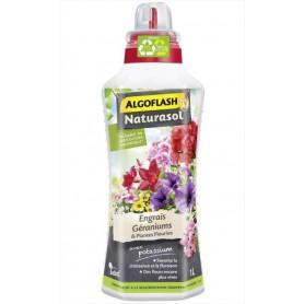 Engrais Liquide Géraniums et Plantes Fleuries 1L Algoflash