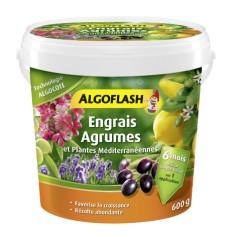Engrais Algocote Agrumes et Plantes Méditerranéennes 600g Algoflash