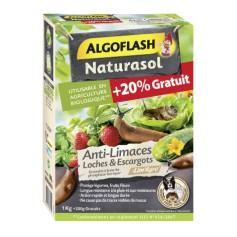 Anti-limaces, loches et escargots Algoflash Naturasol 1Kg+200g offert