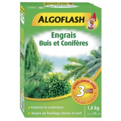 Engrais Buis et Conifères Action Prolongée 1.8kg Algoflash