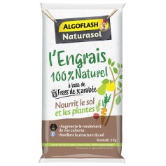 Engrais 100% Naturel à base de frass de scarabée 5kg Algoflash