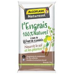 Engrais 100% Naturel à base de frass de scarabée 5kg Algoflash