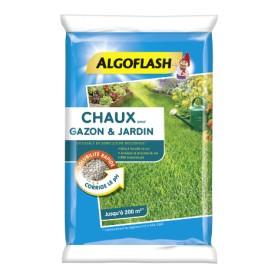 Chaux pour Gazon & Jardin 10kg Algoflash