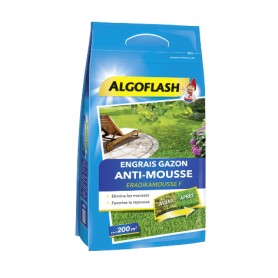 Engrais gazon Anti-mousse 6kg Algoflash
