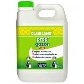 Engrais liquide Prop'Gazon 3 en 1 / 5L Clairland