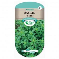 Graine Basilic Fin Vert