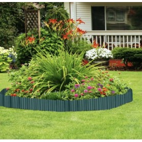 Bordure de jardin en plastique 9mx 20cm