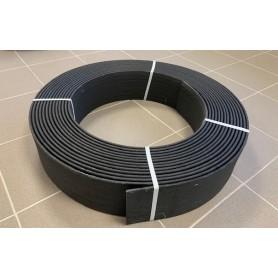 Ecoborder Flex 15m x 14 cm x 0,7cm, noire