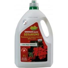 Engrais liquide Géraniums 4-6-8 Start