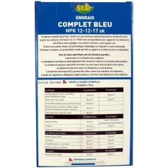 Engrais bleu complet 2kg STAR