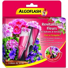 Revitalisant Fleurs de balcons & terrasses PAE 5*30ml Algoflash